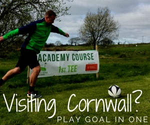 Goal in One Footgolf Lanivet Footgolf Bodmin Footgolf Cornwall