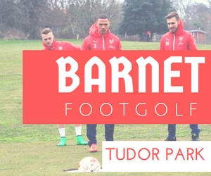 The Barnet Footgolf Tudor Park Footgolf Golf Centre London Footgolf Course