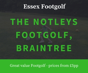 The Notleys Footgolf Notleys Golf Club Braintree Essex