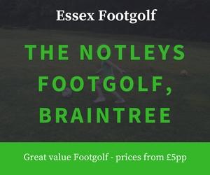 The Notleys Footgolf Notleys Golf Club Braintree Essex