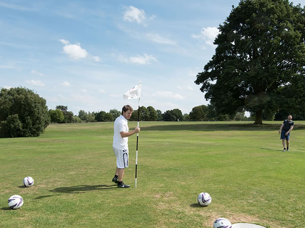 Markeaton Footgolf Course
