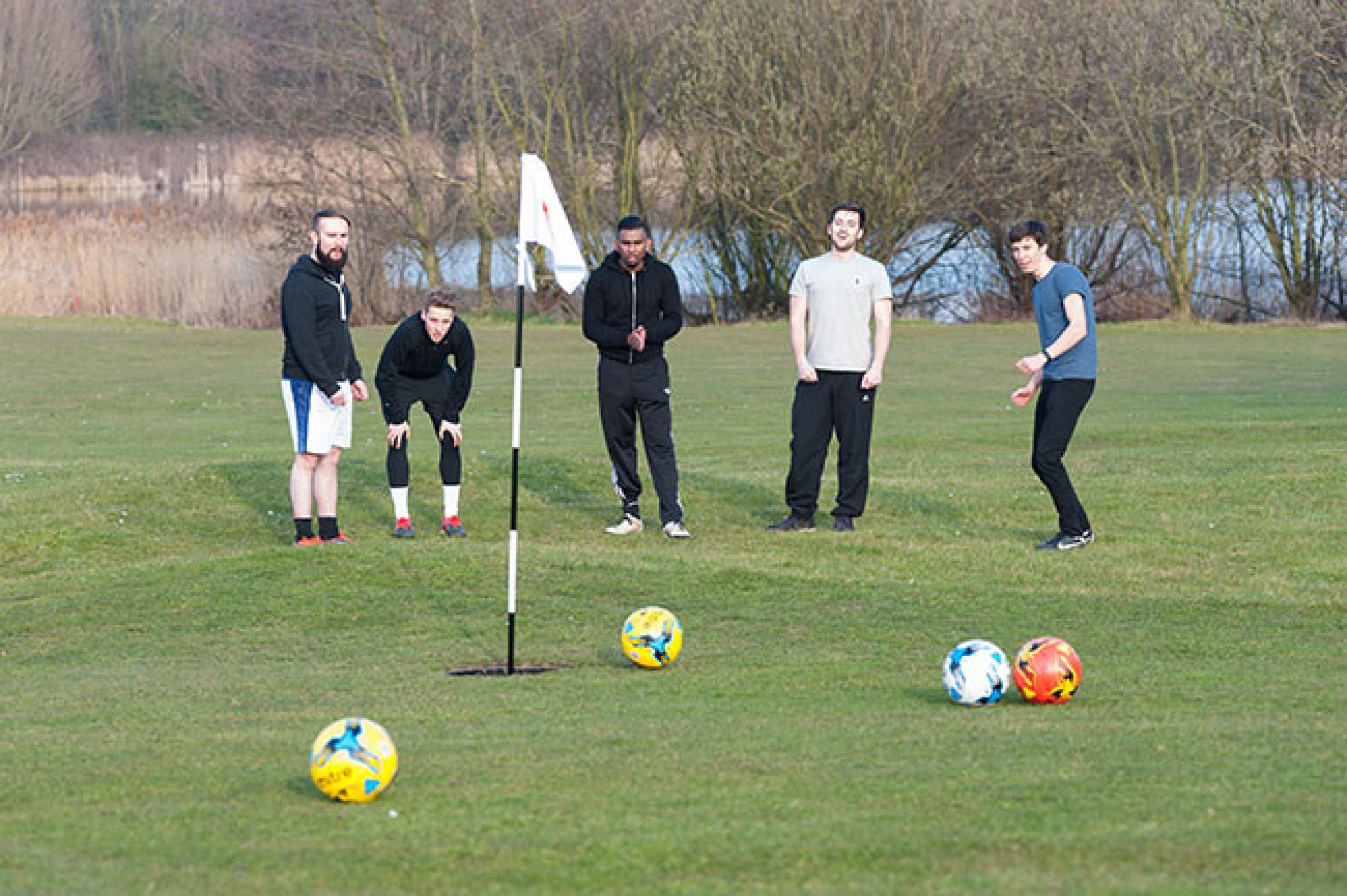 Footgolf for a Stag Do Activity