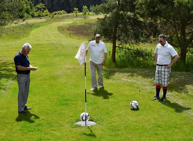Oakmere Park Footgolf Course