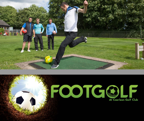 Caerleon Golf Club Footgolf Course Wales Cardiff