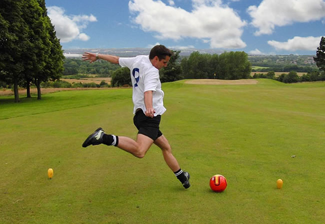 Cannock Footgolf Staffordshire Course Chase Leisure Centre