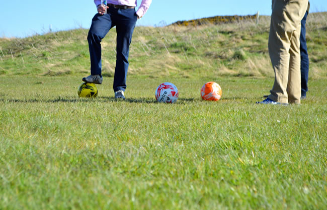 Edinburgh Footgolf Scotland Courses Swanston Golf Club