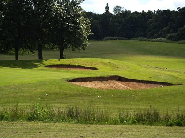 Delapre Footgolf Course Golf Centre Northampton Northamptonshire