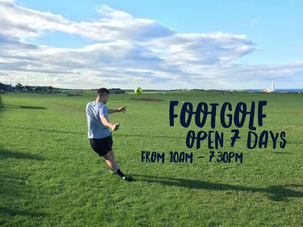 Whitley Bay Footgolf Course Whitley Bay Mini Golf & FootGolf