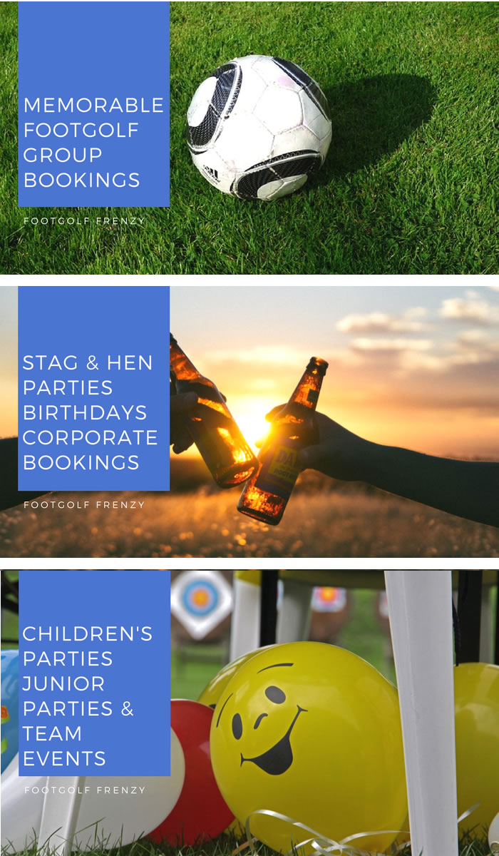 Footgolf Group Bookings Stag and Hen Party Bookings Courses Childrens Party Footgolf Courses