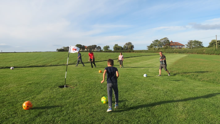 Scarborough Footgolf Course North Yorkshire Cayton