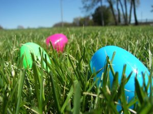 Footgolf Course Easter Eggs