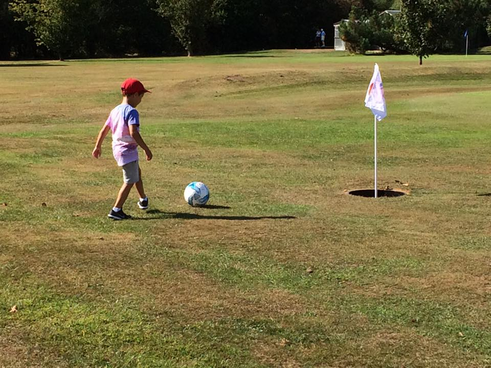 North Weald Footgolf Course Blakes Golf Club in Epping Essex