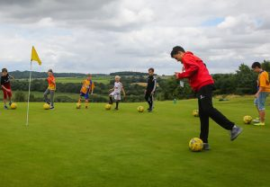 Ballers & Hackers Footgolf Course Nottingham