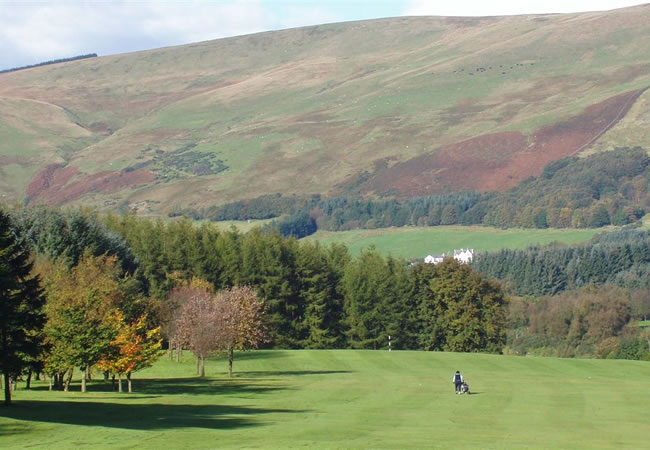 Muckhart Footgolf Course Scotland Dollar Clackmannanshire