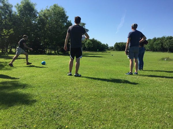 Preston Footgolf Course Goosnargh Golf Preston Footgolf Club