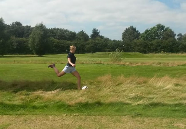 Woodside Footgolf Couse Woodside Golf Club Holmes Chapel Cheshire