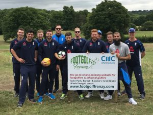 England Cricket Team Barnet Footgolf