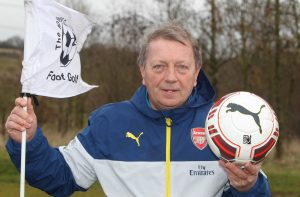Vic Akers OBE Footgolf Football The Notleys Golf Club