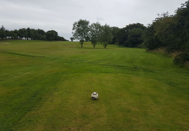 Kilmarnock Footgolf Course Scotland UK Golf Course