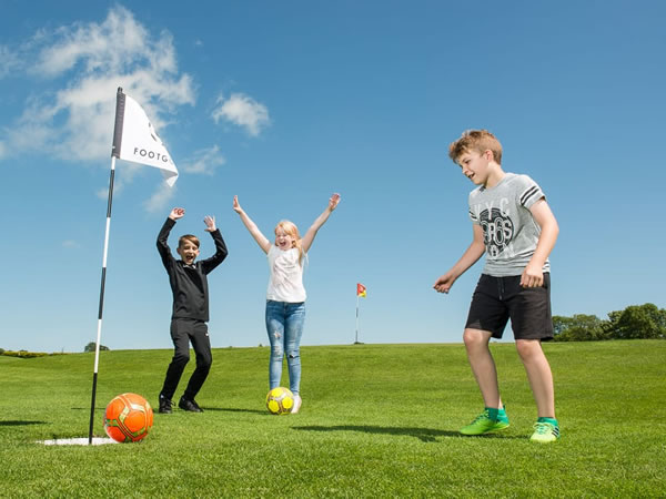 Ballyclare Footgolf Course Northern Ireland Greenacres Golf Centre