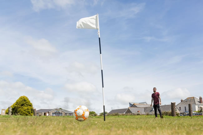 Wheal Dream Footgolf Course Cornwall Redruth