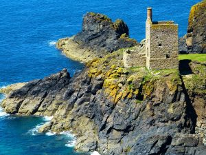 Cornwall Tin Mine Coast Beaches Footgolf Engine House Footgolf Guides