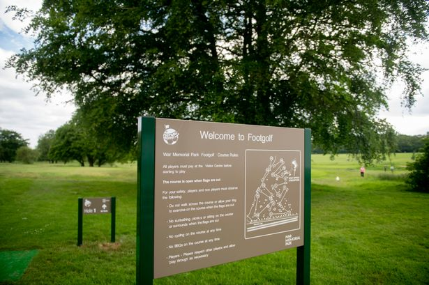 War Memorial Park Coventry Footgolf Course